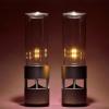 Звуковой фонарь и лампа, превращающая свет в жидкость