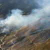 Пожар  испепелил  дагестанское село Мокок