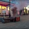 Высоковольтный «фейерверк» в центре Симферополя – видео