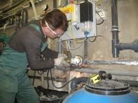 Электромонтажные работы по устройству заземления электрооборудования
