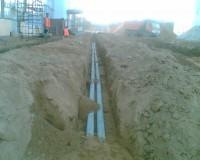Монтаж труб для прокладки кабеля