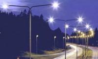 Электромонтаж светильников наружного освещения