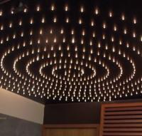 Электромонтаж декоративного освещения потолка