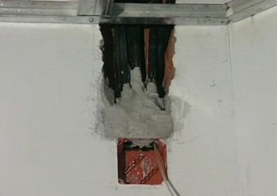 Прокладка кабеля в трубы