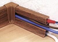 Прокладка кабеля в кабель-канал