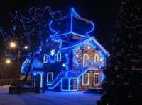 Новогоднее декоративное освещение