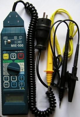 Электроизмерение прибором MIE-500