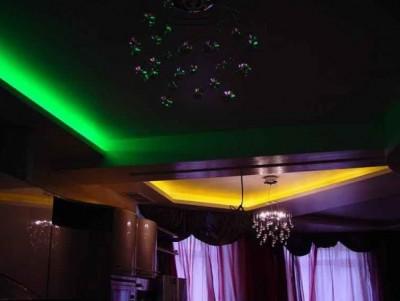 Электромонтаж декоративного освещения в квартире