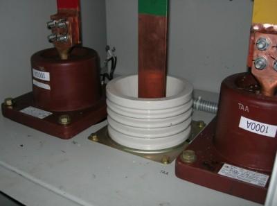 Установка трансформаторов тока