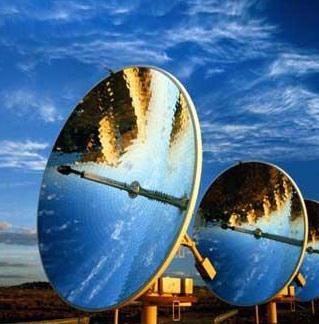 Электроэнергия от солнца и звёзд