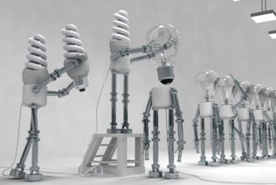Замена ламп накаливания на энергосберегающие лампы