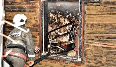 Причина пожара - короткое замыкание в электропроводке