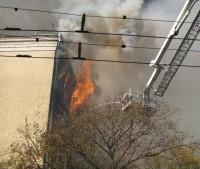 Пожар из-за короткого замыкания в электропроводке