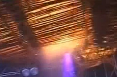 Возгорание потолка