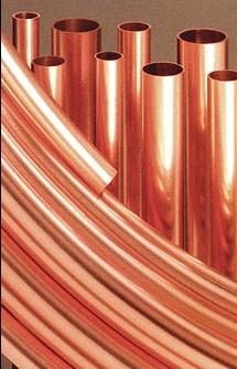 Прокладка кабеля в медных трубах