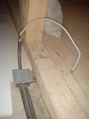 Протяжка кабеля в металлические трубы