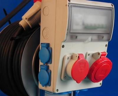 Устройство защитного отключения на передвижном электрооборудовании