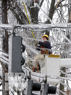 Электромонтажные работы на линиях