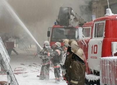 Возможная причина пожара - возгорание электрообогревателя