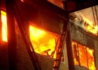Порядок действий при пожаре