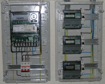 Электромонтаж и электроизмерения приборов учёта электроэнергии