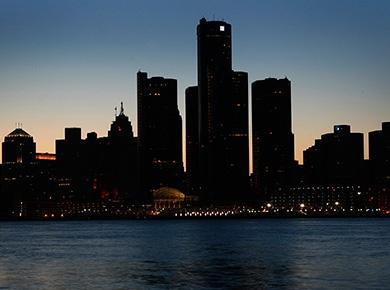 Город во тьме