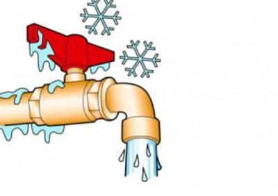 Обледенение водопроводных труб