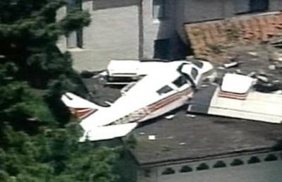 Падение легкомоторного самолета в Бразилии