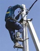 Электромонтажные работы на линии электропередач