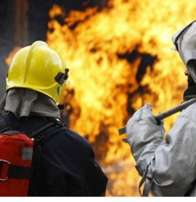Работа пожарной службы