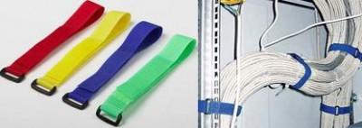 Пластиковые стяхки для крепления провода и кабеля