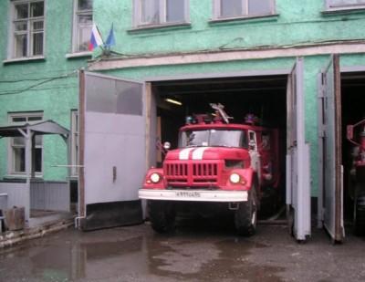 Выезд пожарной службы на возгорание