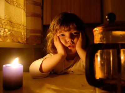 Жители без электроэнергии
