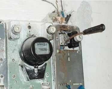 Реконструкция электроснабжения в щите учёта