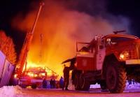 Пожар в офисном здании