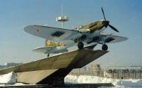 """Памятник-самолет """"ИЛ-2"""""""