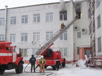 Возгорание в жилом доме из-за неисправной электропроводки