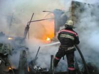 Пожары в Омской области