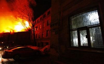 Пожар из-за неисправной электропроводки
