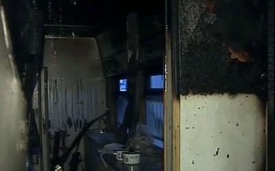 Пожар в вагоне-ресторане