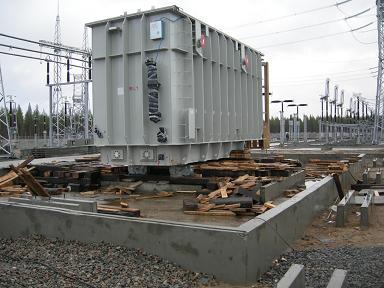 Электромонтажные работы на подстанции