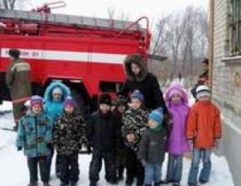Эвакуация из детского сада