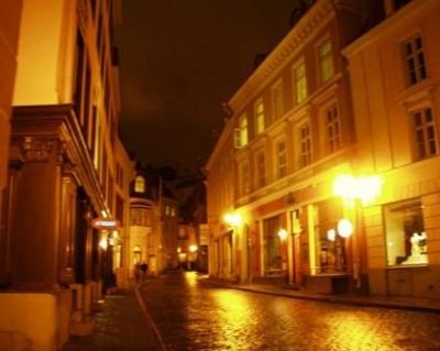 Уличное освещение Таллинна