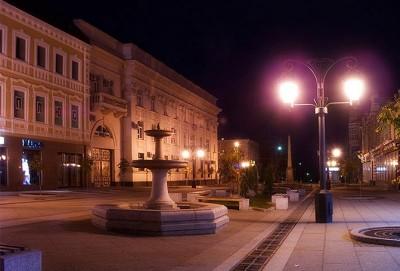 Система освещения на Ленинградской