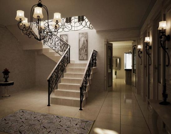 Для придания лестнице в доме античного вида можно воспользоваться ассортиментом изделий в винтажных магазинах...