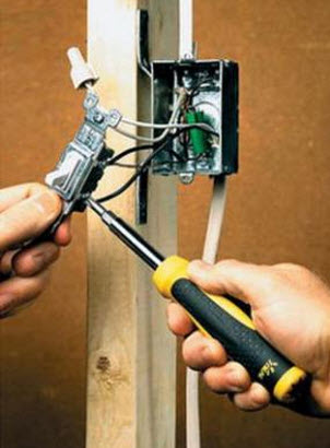5 правил замены электропроводки.