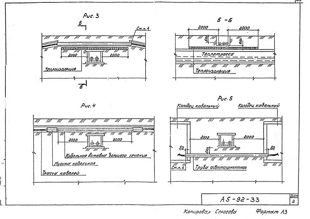 тяжпромэлектропроект прокладка кабелей напряжением до 35 кв в траншеях