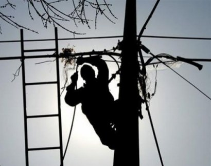 В Одессе после шторма украли более 700 метров провода