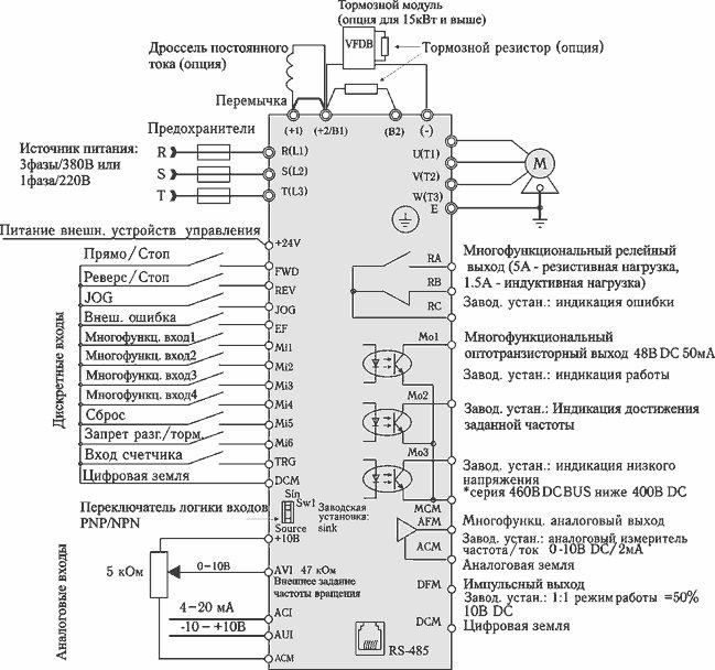 схема подключения асинхронного о - Схемы.