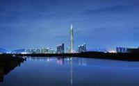 Небоскреб в Южной Корее